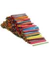 Gekleurde knutselhoutjes 1000 stuks