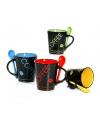 Gekleurde koffiemok