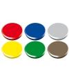 Gekleurde magneten setje 6 stuks