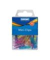 Gekleurde plastic mini knijpertjes 30x