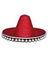Gekleurde sombrero 60 cm