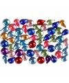 Gekleurde strasstenen rond 15 gr