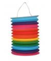 Gekleurde treklampion regenboog 15 cm