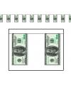 Geld slinger met dollars 4 meter