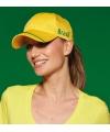 Gele brasil baseball cap