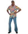 Gele hawaii blouse