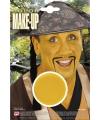 Gele schmink make up