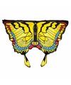 Gele zwaluwstaartvlinder vleugels voor kids