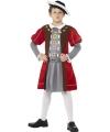 Geschiedenis henry viii kostuum voor jongens