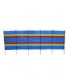 Gestreept windscherm strand 400 x 152 cm