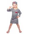 Gevangene kostuum voor meisjes