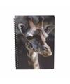 Giraffe notitieboek 3d 21cm