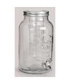 Glazen dranken limonade dispenser 5 25 liter