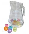 Glazen schenkkan 1 3 liter
