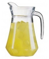 Glazen schenkkan 1 6 liter