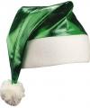 Glimmende groene kerstmuts