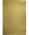 Glitterend goud hobby karton a4