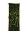 Glow in the dark deurposter met spin