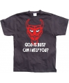 God is busy t shirt