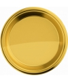 Gouden bordjes rond 23 cm