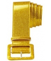 Gouden glitter riem 120 cm
