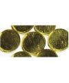 Gouden zelfklevende mozaiek rond