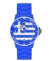 Griekenland siliconen horloge