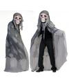 Grijs doodshoofd spook kostuum