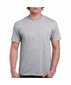 Grijs katoenen shirt voor volwassenen