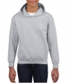 Grijze capuchon sweater voor jongens