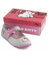 Grijze hello kitty pantoffels