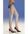 Grijze jeans legging voor dames
