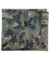 Groen camouflage afdekzeil 3 x 3 80 m