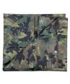 Groen camouflage afdekzeil 5 x 6 m