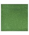 Groen glitter papier vel