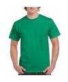 Groen katoenen shirt voor volwassenen