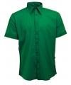 Groen lemon soda overhemd voor heren