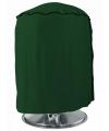 Groene barbecue beschermhoes rond 50 cm