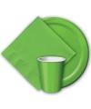 Groene bekers 8 stuks
