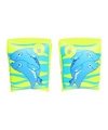 Groene dolfijn zwembandjes voor kinderen 25 cm