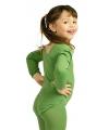 Groene kinder bodysuit