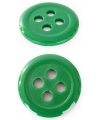 Groene knopen 6 cm