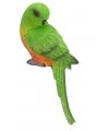 Groene papegaai 21 cm