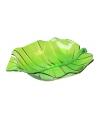 Groene serveer schaal 32 cm