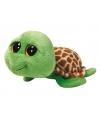 Groene ty beanie knuffel schildpad 24 cm