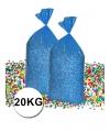 Grootverpakking gerecyclede confetti 20 kg