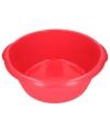 Grote afwasteil rood 25 l 50 cm