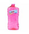 Grote bellenblaas fles paars 3 liter