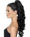 Hair extensions zwart krullend haar