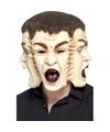 Halloween 3 gezichten masker voor heren